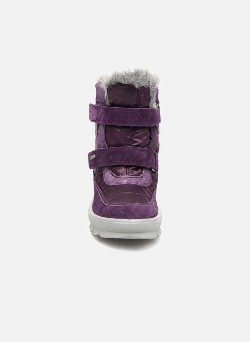 Chaussures de sport Superfit Flavia GTX Violet vue portées chaussures