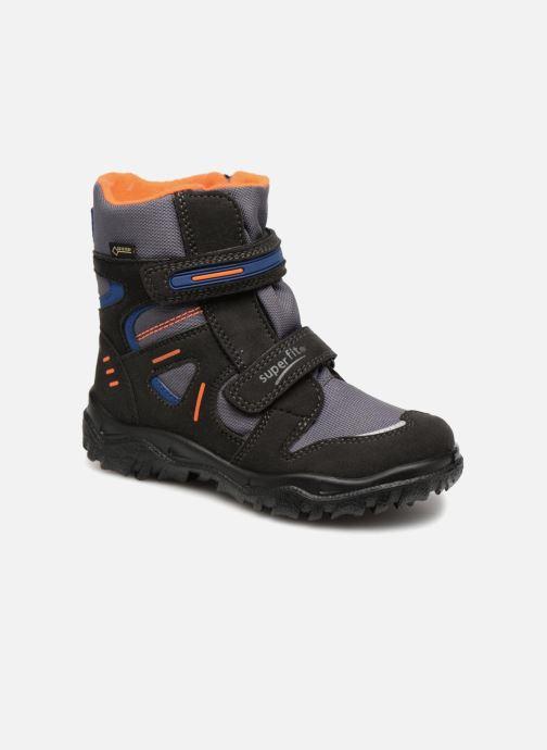 Sportssko Superfit Husky Sort detaljeret billede af skoene