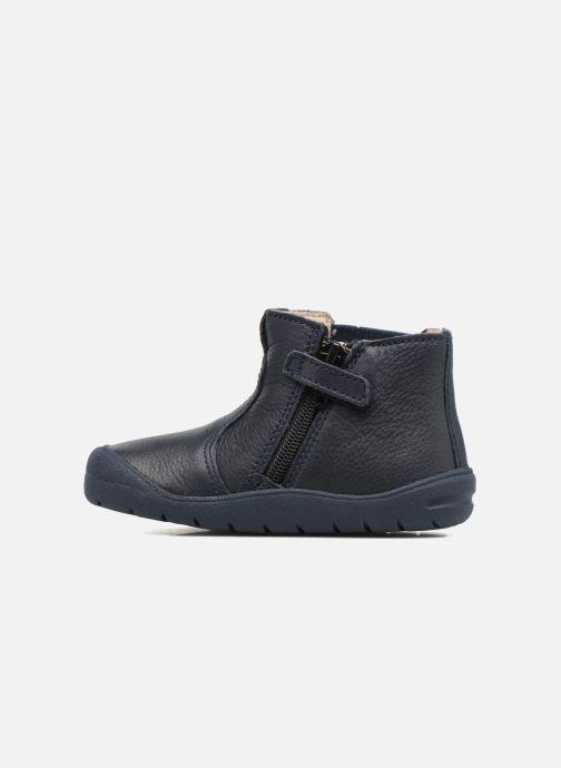 Stiefeletten & Boots Start Rite First Chelsea blau ansicht von vorne