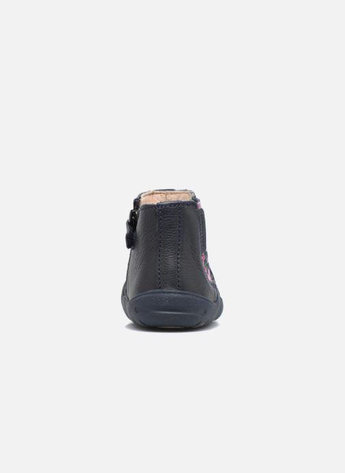 Bottines et boots Start Rite First Chelsea Bleu vue droite