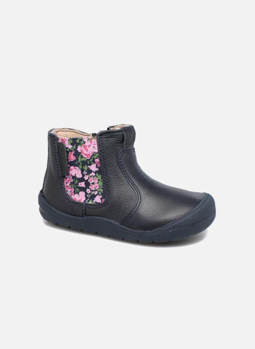 Bottines et boots Start Rite First Chelsea Bleu vue détail/paire