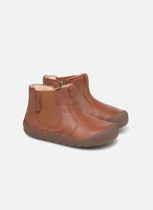 Ankle boots Start Rite First Chelsea Brown 3/4 view