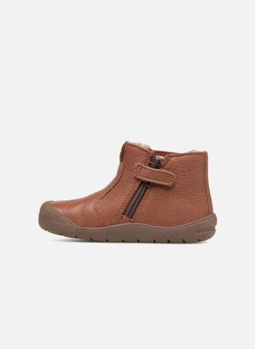 Boots en enkellaarsjes Start Rite First Chelsea Bruin voorkant