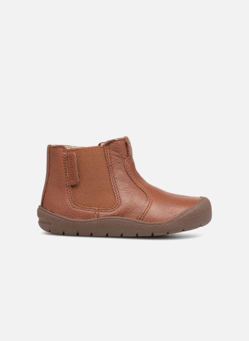 Boots en enkellaarsjes Start Rite First Chelsea Bruin achterkant