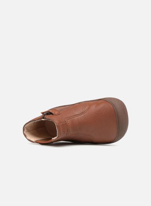 Stiefeletten & Boots Start Rite First Chelsea braun ansicht von links