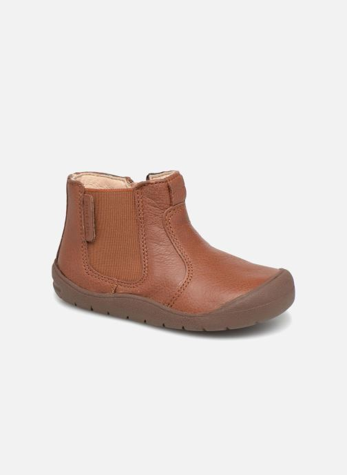 Boots en enkellaarsjes Start Rite First Chelsea Bruin detail