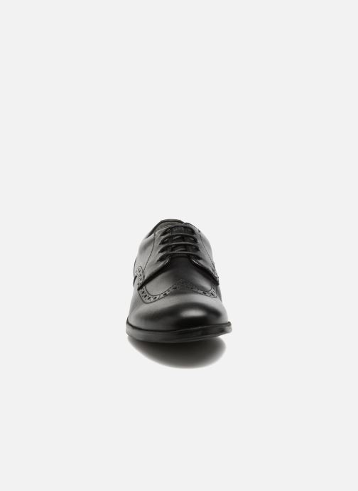 Schnürschuhe Start Rite Brogue PRI schwarz schuhe getragen