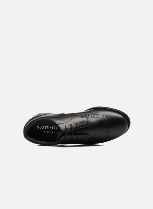 Chaussures à lacets Start Rite Brogue PRI Noir vue gauche