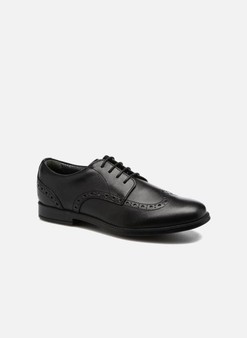 Chaussures à lacets Start Rite Brogue PRI Noir vue détail/paire
