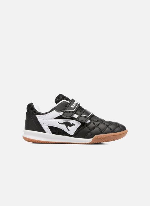 Baskets Kangaroos Power Comb V Noir vue derrière