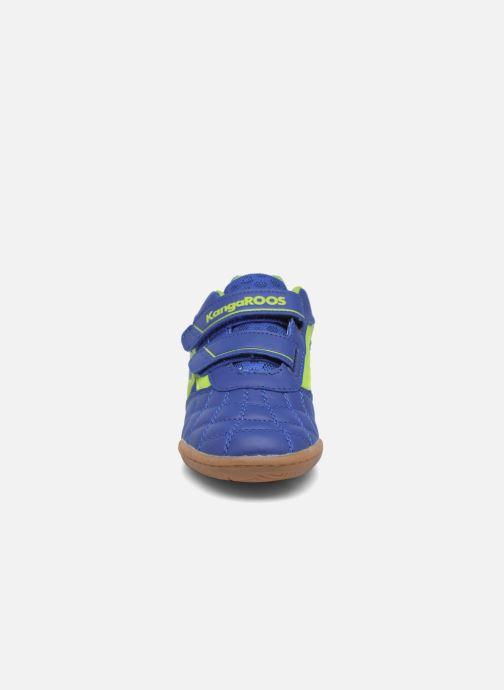 Baskets Kangaroos Power Comb V Bleu vue portées chaussures