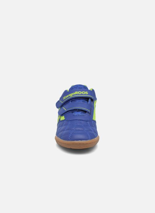 Trainers Kangaroos Power Comb V Blue model view