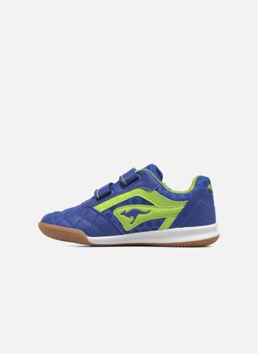 Sneaker Kangaroos Power Comb V blau ansicht von vorne
