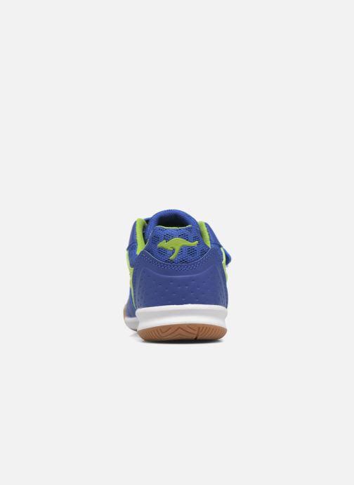 Sneaker Kangaroos Power Comb V blau ansicht von rechts