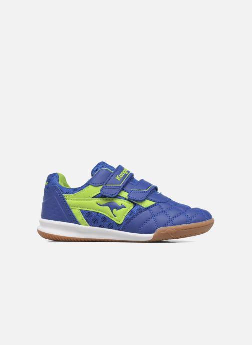 Sneaker Kangaroos Power Comb V blau ansicht von hinten