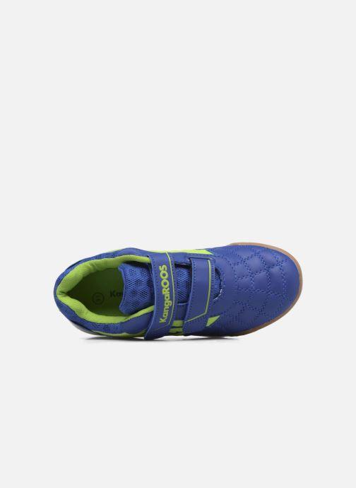 Baskets Kangaroos Power Comb V Bleu vue gauche
