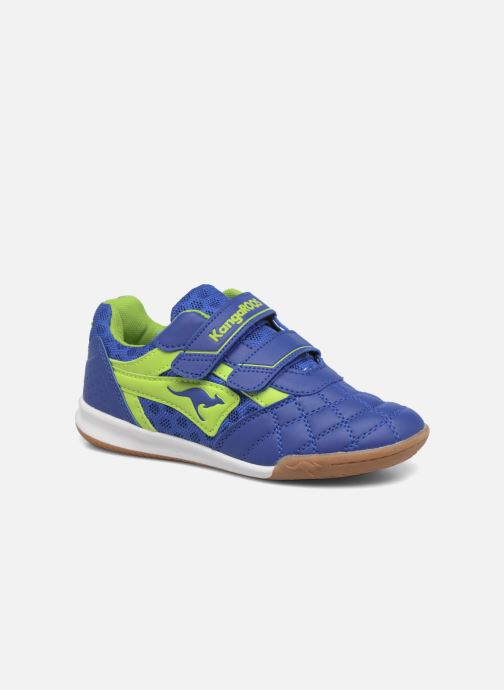 Trainers Kangaroos Power Comb V Blue detailed view/ Pair view
