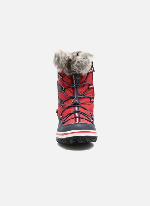 Scarpe sportive Kangaroos Maple Rosso modello indossato