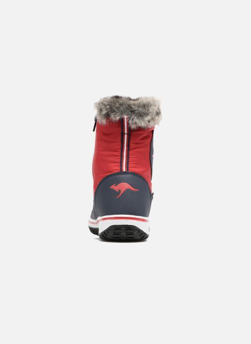 Sportssko Kangaroos Maple Rød Se fra højre