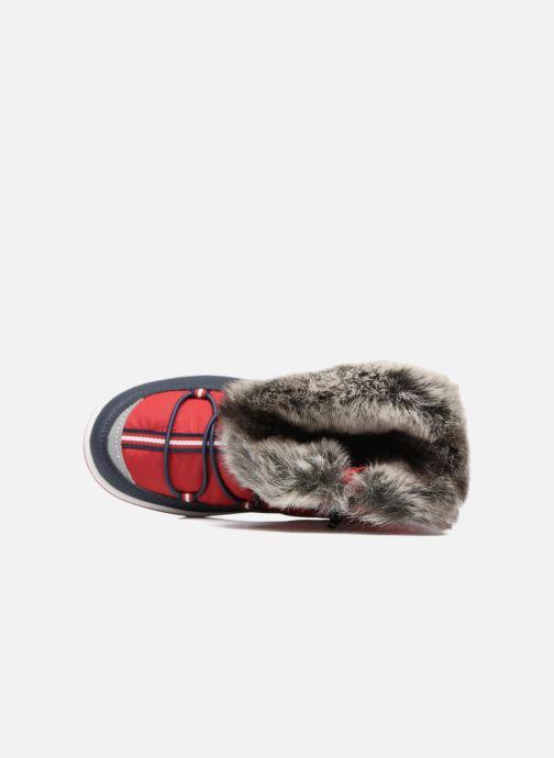 Chaussures de sport Kangaroos Maple Rouge vue gauche