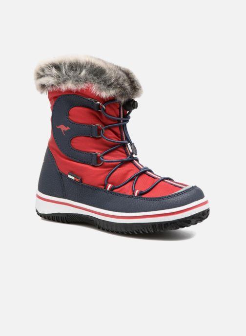 Chaussures de sport Kangaroos Maple Rouge vue détail/paire