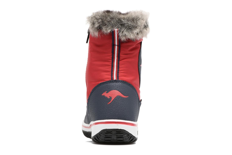 Sportschuhe Kangaroos Maple rot ansicht von rechts