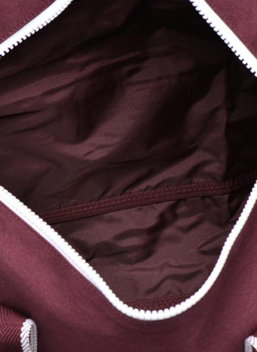 Sacs de sport Fred Perry Sport Canvas Barrel Bag Rouge vue derrière