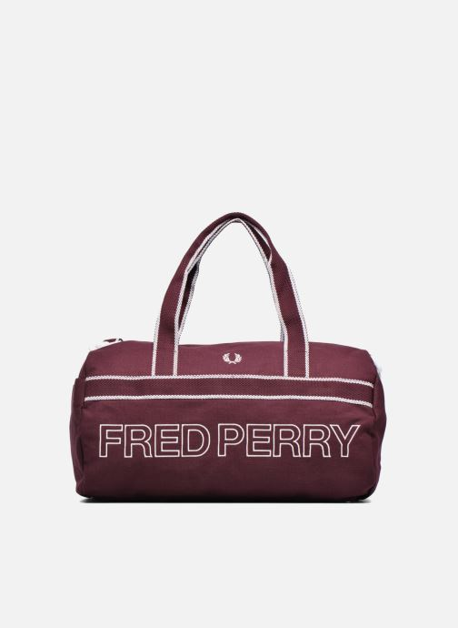 Sacs de sport Fred Perry Sport Canvas Barrel Bag Rouge vue détail/paire