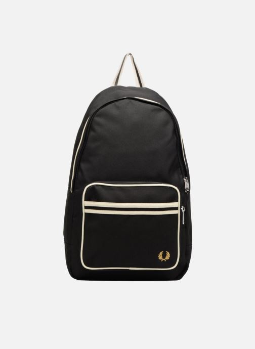 Sacs à dos Fred Perry Twin Tipped Backpack Noir vue détail/paire