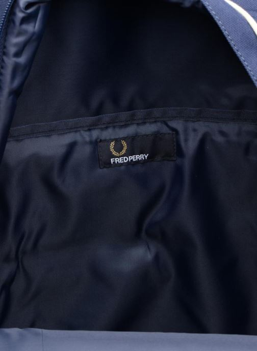 Sacs à dos Fred Perry Twin Tipped Backpack Bleu vue derrière