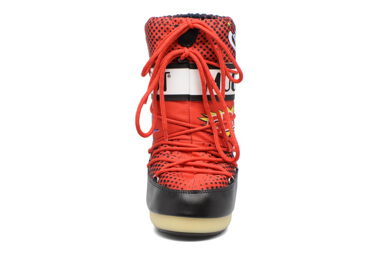 Sport shoes Moon Boot Jr Comics Red model view
