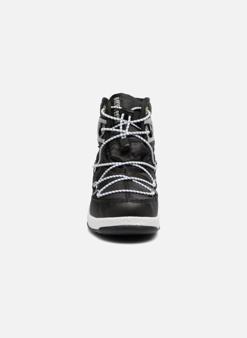Chaussures de sport Moon Boot Moon Boot Mid Jr Wp Noir vue portées chaussures