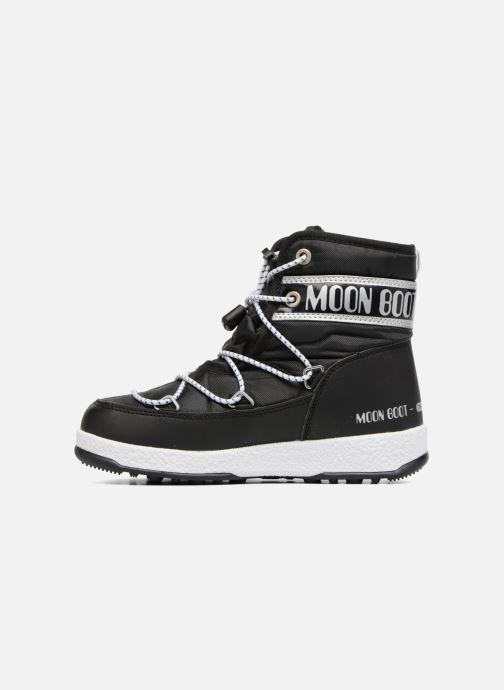 Zapatillas de deporte Moon Boot Moon Boot Mid Jr Wp Negro vista de frente
