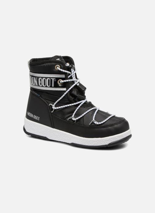 Zapatillas de deporte Moon Boot Moon Boot Mid Jr Wp Negro vista de detalle / par