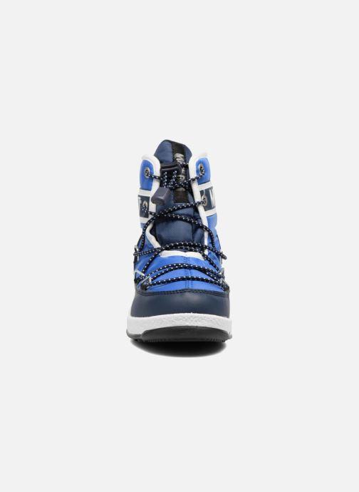 Chaussures de sport Moon Boot Moon Boot Mid Jr Wp Bleu vue portées chaussures