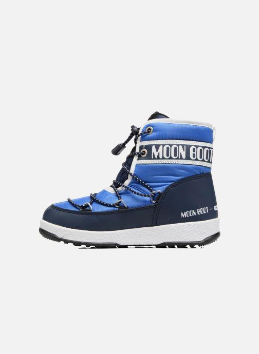 Zapatillas de deporte Moon Boot Moon Boot Mid Jr Wp Azul vista de frente