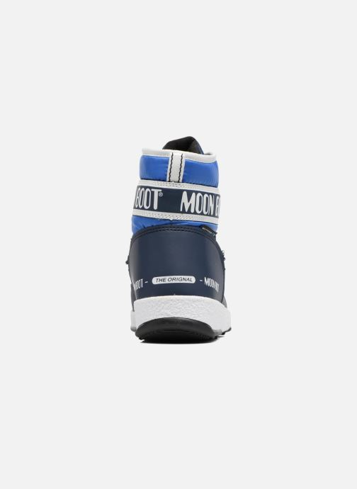 Zapatillas de deporte Moon Boot Moon Boot Mid Jr Wp Azul vista lateral derecha