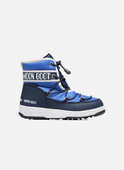Chaussures de sport Moon Boot Moon Boot Mid Jr Wp Bleu vue derrière