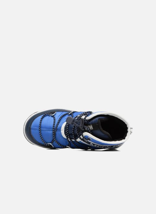 Zapatillas de deporte Moon Boot Moon Boot Mid Jr Wp Azul vista lateral izquierda