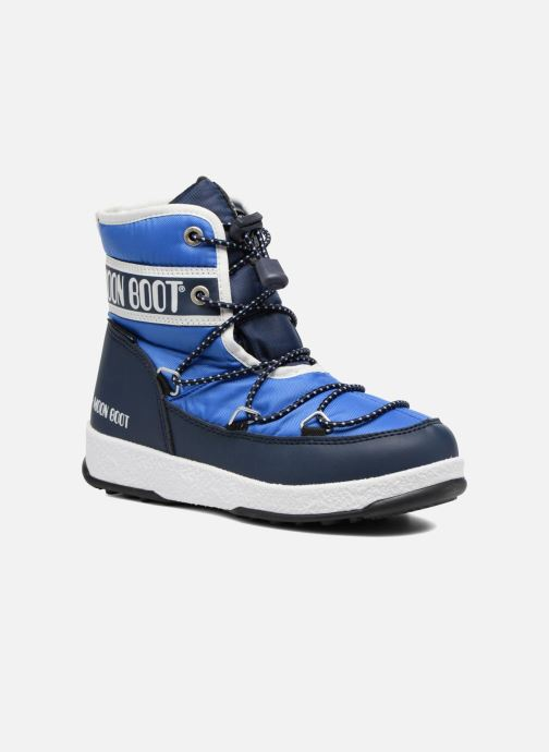 Sportschoenen Moon Boot Moon Boot Mid Jr Wp Blauw detail