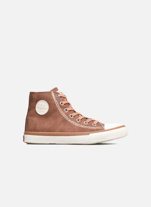 Sneakers Pepe jeans Raider Brun se bagfra