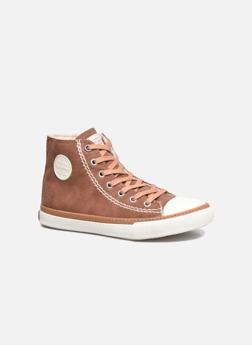 Sneakers Pepe jeans Raider Brun detaljeret billede af skoene