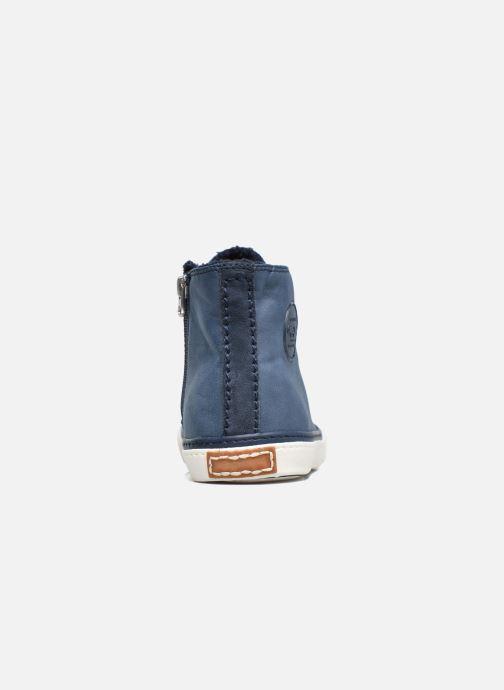 Sneakers Pepe jeans Raider Azzurro immagine destra