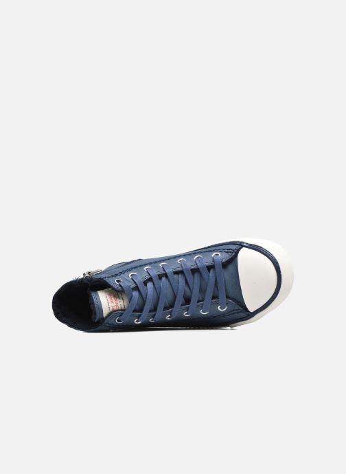Sneakers Pepe jeans Raider Azzurro immagine sinistra