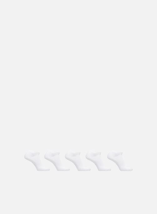 Chaussettes et collants Esprit Chaussettes Courtes Unies Lot de 5 Blanc vue détail/paire