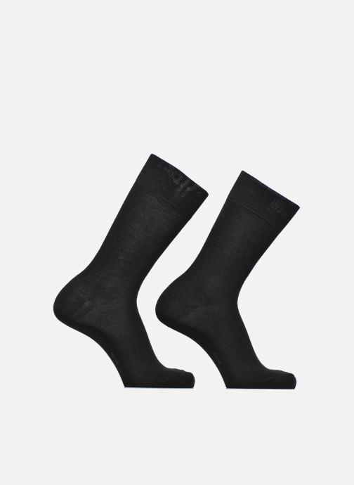 Chaussettes et collants Esprit Chaussettes Basic Wool Lot de 2 Noir vue détail/paire