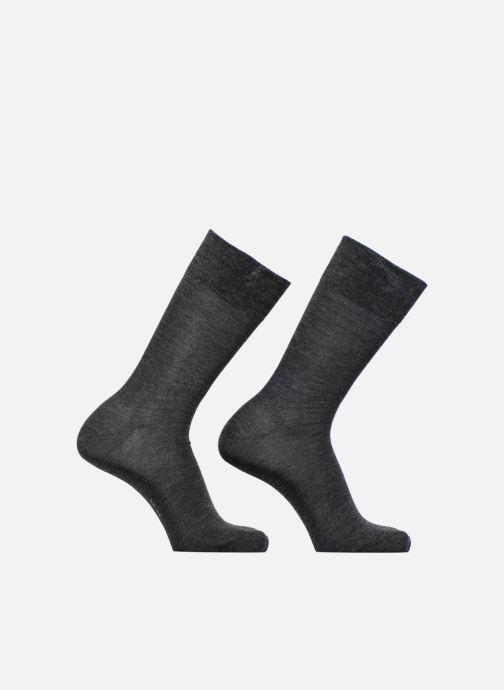 Chaussettes et collants Esprit Chaussettes Basic Wool Lot de 2 Gris vue détail/paire
