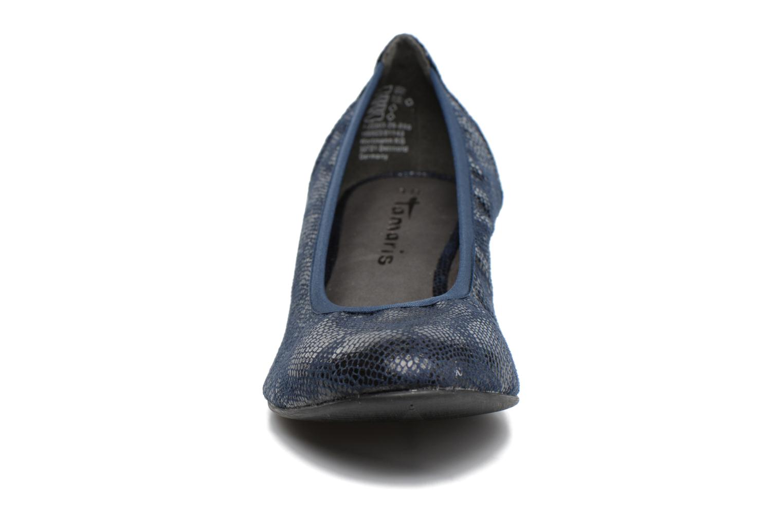 Ballet pumps Tamaris Isila Blue model view