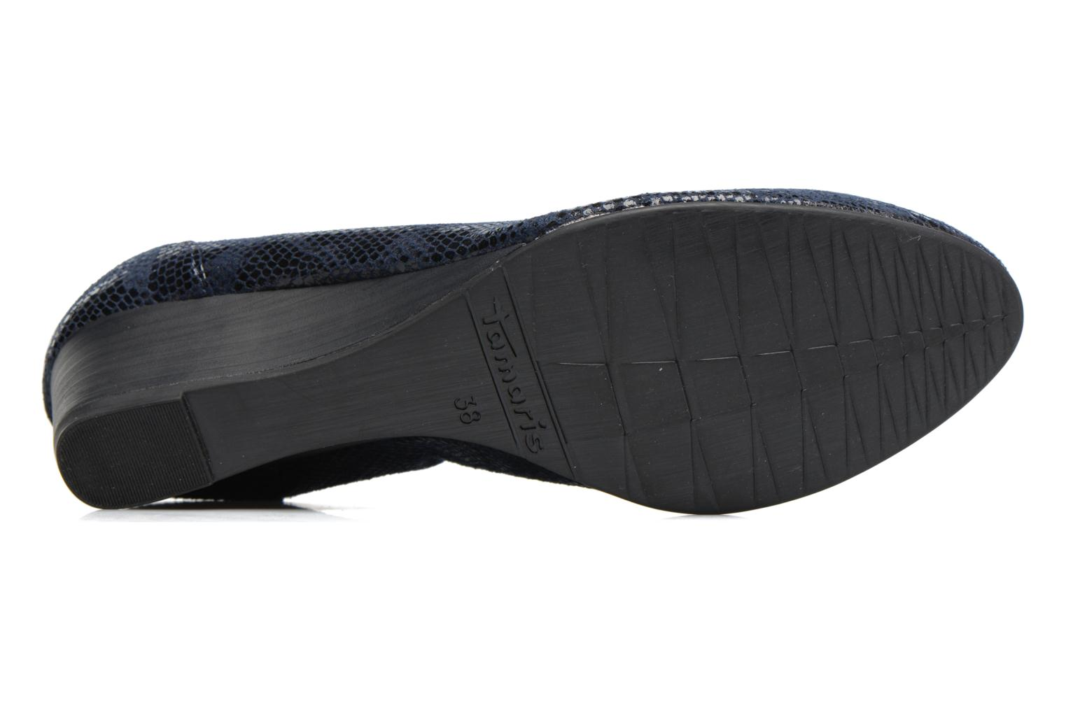 Ballet pumps Tamaris Isila Blue view from above