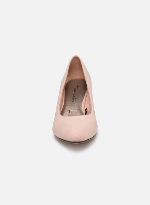 Escarpins Tamaris Meliana Rose vue portées chaussures
